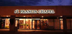 StFrancisChapelexteriornight